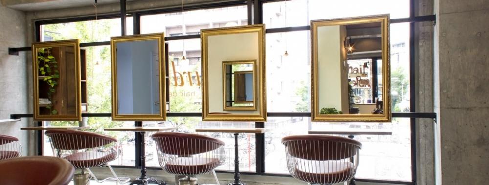 Lourdes Hair Design 店内カット台