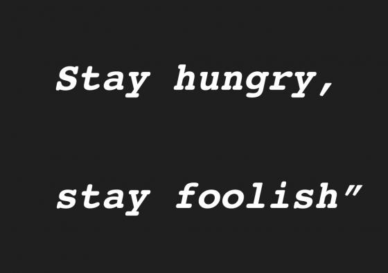 好きな言葉byスティーブジョブズ@SATO