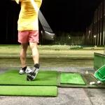 ゴルフ練習。佐藤のタイトル画像