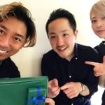 森田さんと片野さんに誕生日をお祝いしてもらいました。さとうのタイトル画像