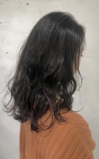ミディアムヘア×地毛カラー サロンギャラリー  ヘアカタログ