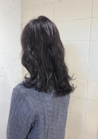 ミディアム×地毛カラー - Lourdes