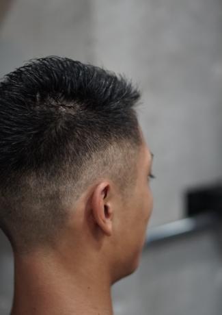 刈り上げ×短髪 サロンギャラリー  ヘアカタログ