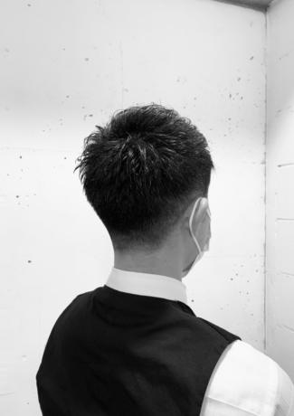 メンズ刈り上げスタイル - Lourdes