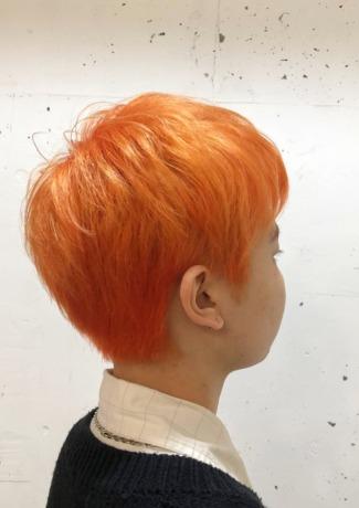 ハイトーンカラー×オレンジ - Lourdes