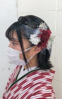 袴に合わせたヘアセット サロンギャラリー  ヘアカタログ