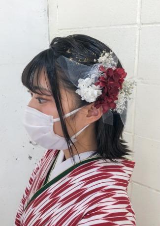 袴に合わせたヘアセット - Lourdes