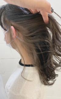 インナーカラー×ミディアムヘア サロンギャラリー  ヘアカタログ
